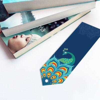zakładka_do_książki_bookmark_obrazek_paw_druk24h